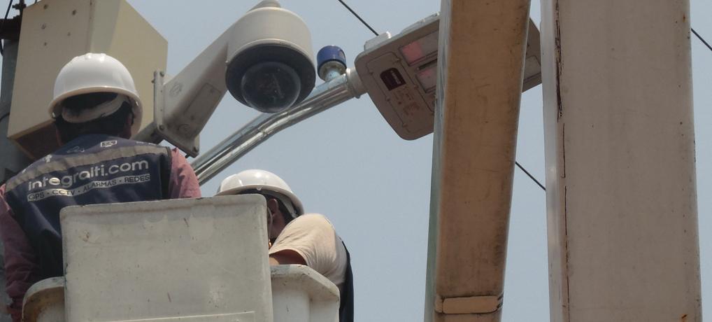 Videovigilancia urbana